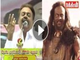 Video: Captain Vijayakanth Speaking in Baahubali Kalakeya Kilikili Language