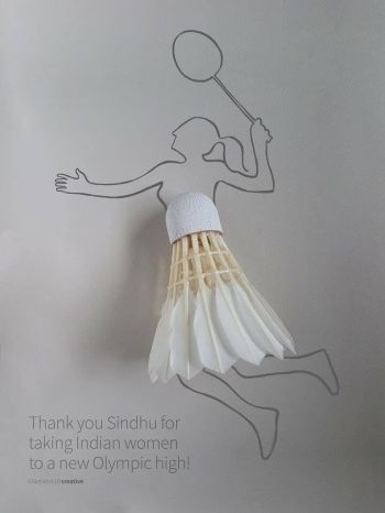 Thank you so much #PvSindhu, You have won hearts!