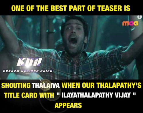 Theri teaser waiting for thalaivaa