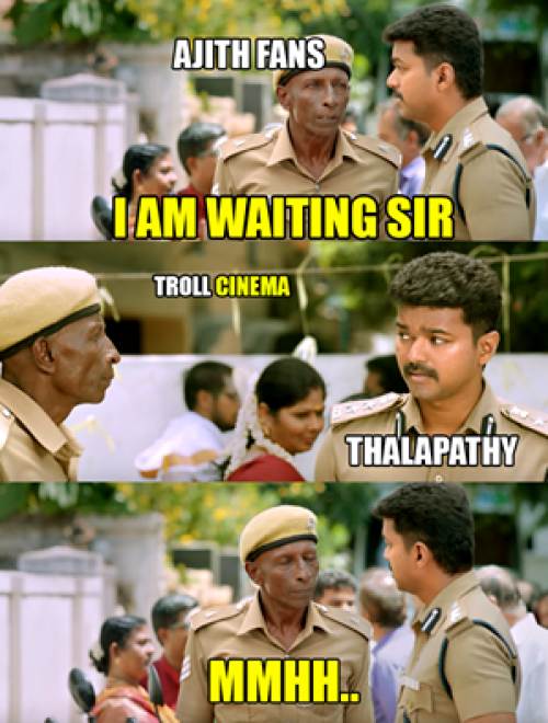 Ajith fans troll in theri teaser