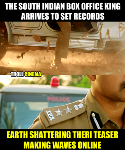 Theri IPS star memes