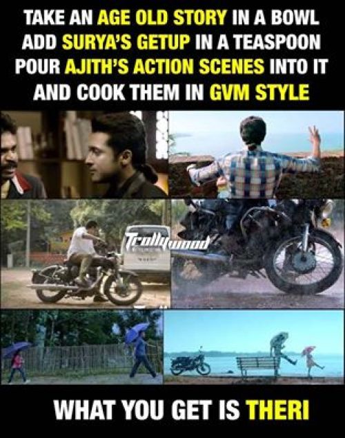 Theri copy scene memes and trolls
