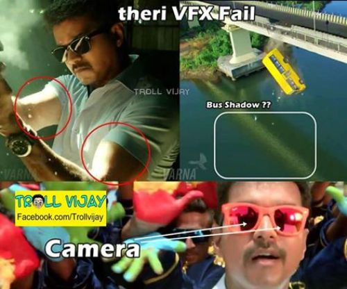 Theri teaser mistakes