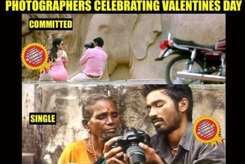 Valentines day tamil memes