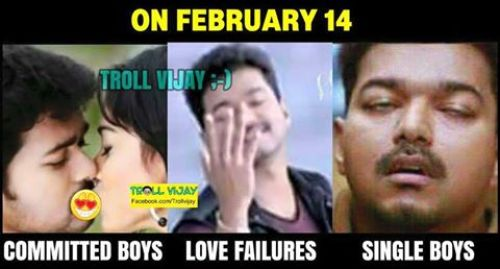Lovers day tamil trolls
