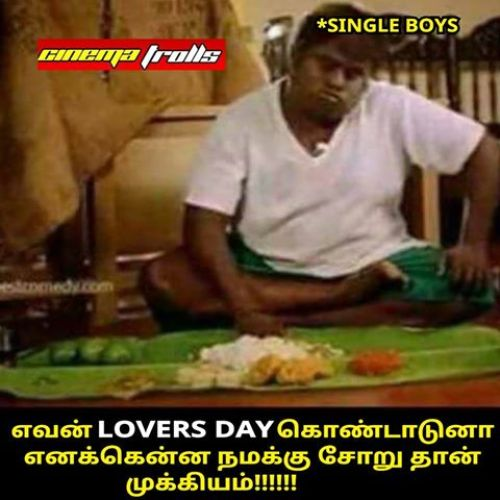 Lovers day single boys food memes