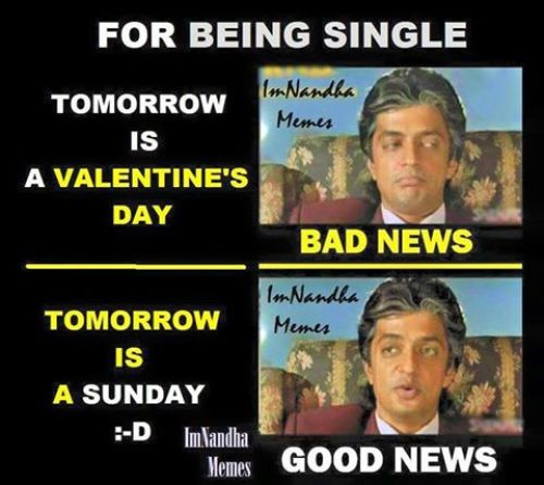 Valentines day on sunday memes and trolls