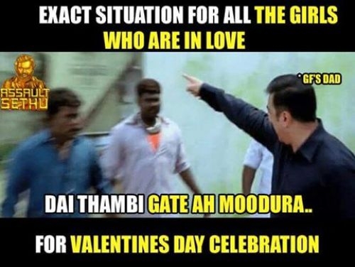 Girl friends father tamil memes