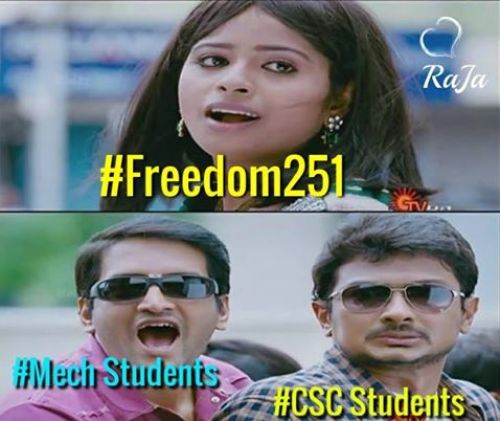 Freedom 251rs mobile memes