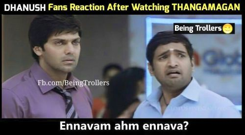 Dhanush fans reaction after watching thangamagan