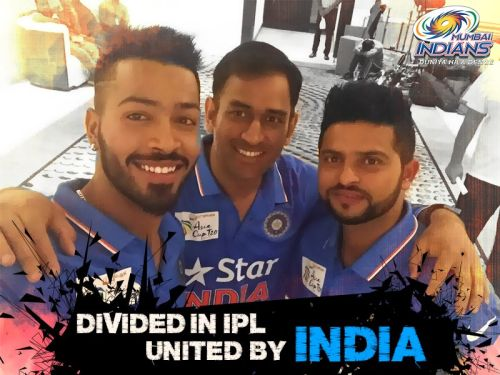 Dhoni recent pic With Raina and Pandya