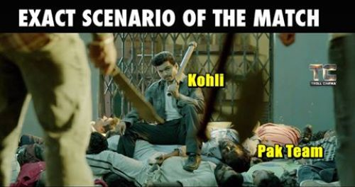Kohli took man of the match against pakistan in T20 Asia Cup