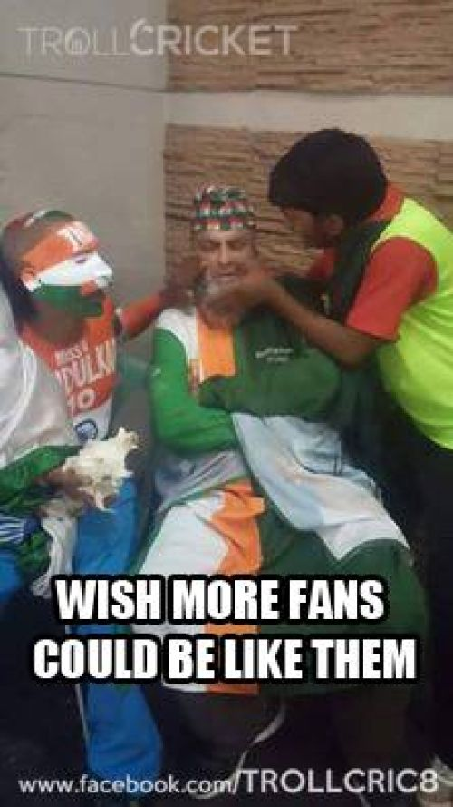 Pak and Indian fan memes