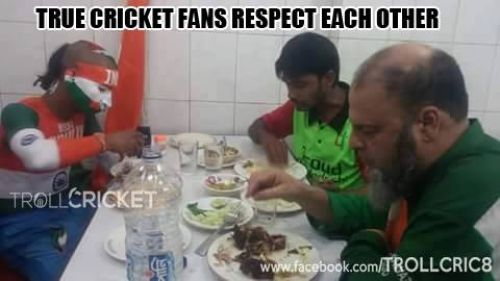 Ind, Pak and Bangladesh Fans Together
