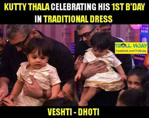 Kutty thala bday photos