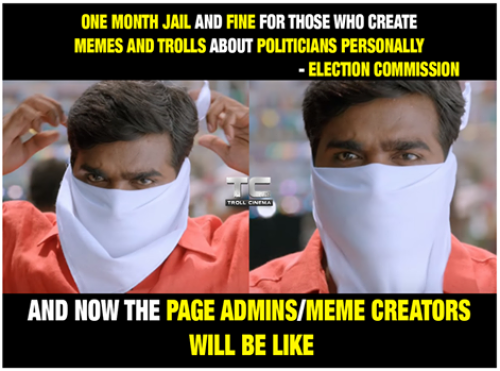 TN Election comission memes