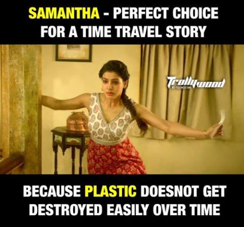 Samantha in 24 movie trolls and memes