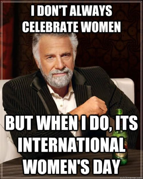 International women's day memes and trolls
