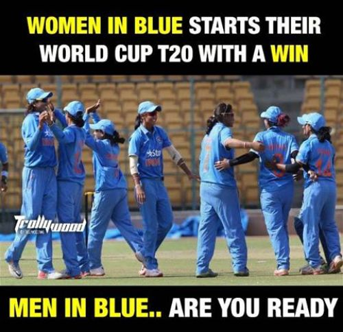 Indian women cricket team memes