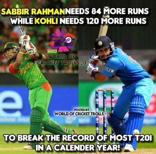 T20 Cricket memes and trolls