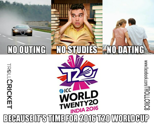 T20 Worldcup 2016 memes