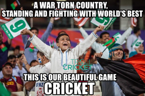 Afghanistan cricket support memes