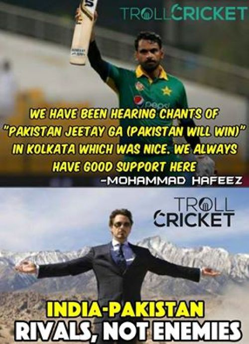 Worldcup cricket IndvsPak Memes and Trolls