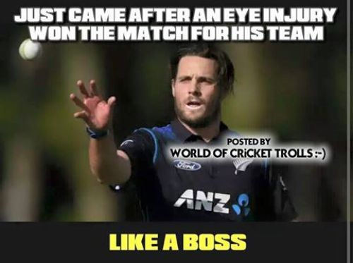 Newzeland team worldcup T20 memes