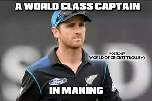 Williamson as great captain memes