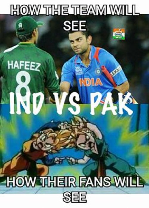 India vs Pak worldcup trolls