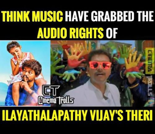 Theri audio on march 20