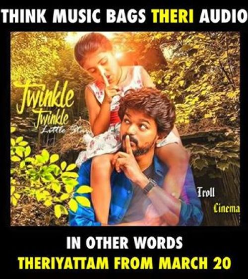 Theri new posters