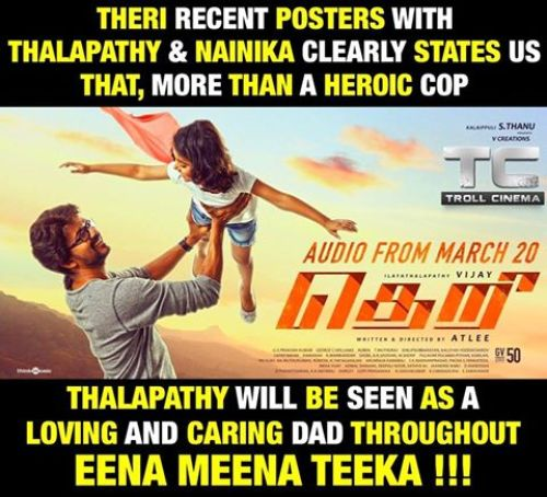 Theri new poster