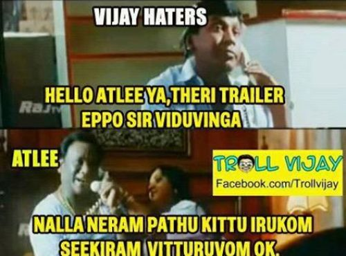 Whatsapp Theri Trolls