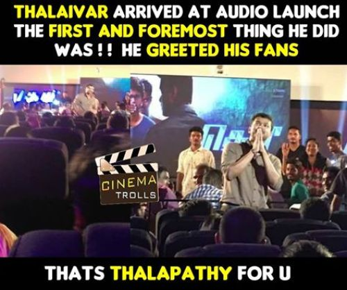 Theri audio function photos