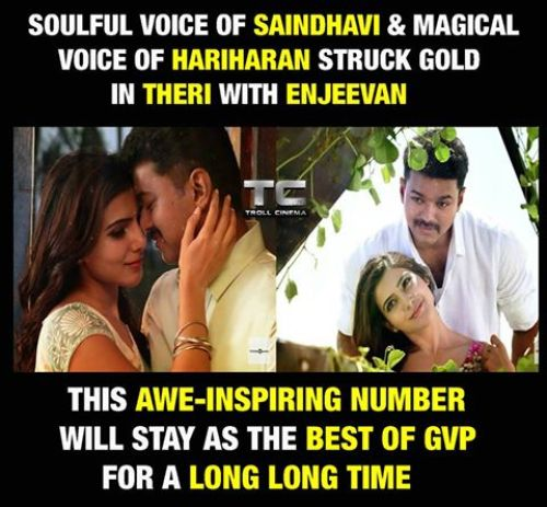 Theri duet song memes