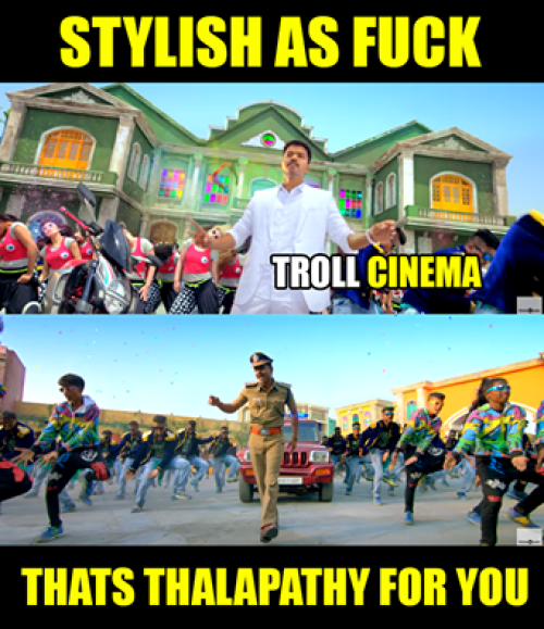 Theri trailer celebrations