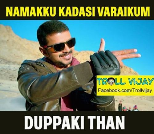 Theri trailer trolls