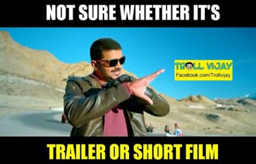 Theri movie trolls