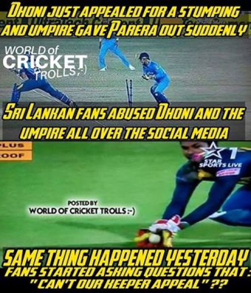 Srilanka Chandimal Cheat Catch Trolls
