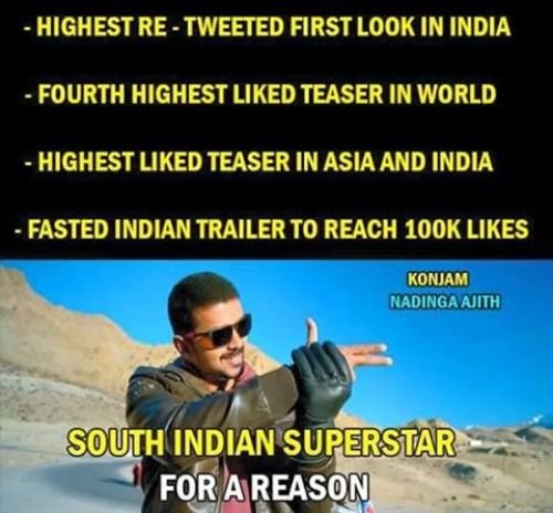 Theri movie youtube likes records