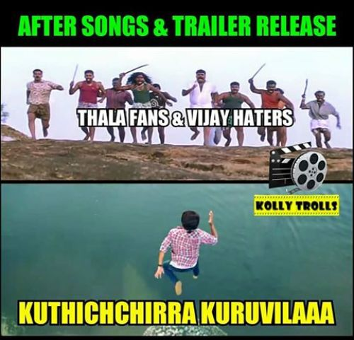 Theri songs and trailer trolls