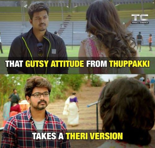 Theri trailer hit fans reactions