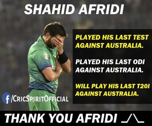 Afridi retirement T20 trolls and memes