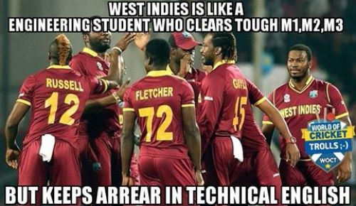 Westindies team worldcup trolls