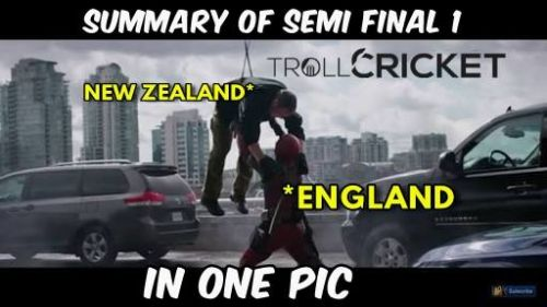 Eng vs NZ WT20 Semifinal trolls and memes