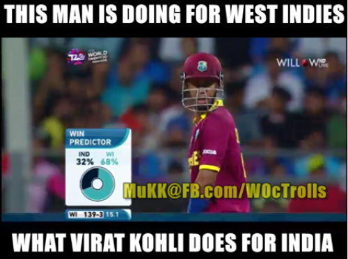 Westindies vs India Match Trolls