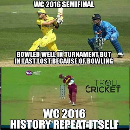 Indian team worldcup semi loss t20 against westindies