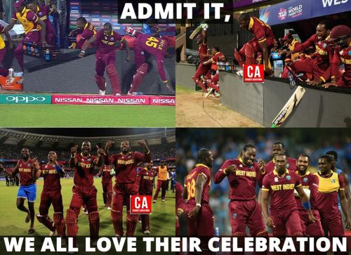 Westindies won against india memes