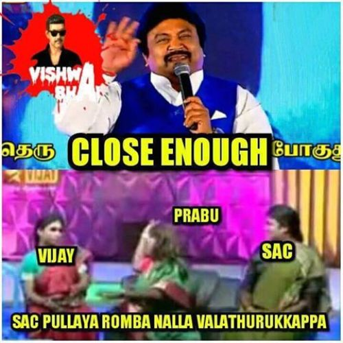 Theri audio prabhu speech trolls